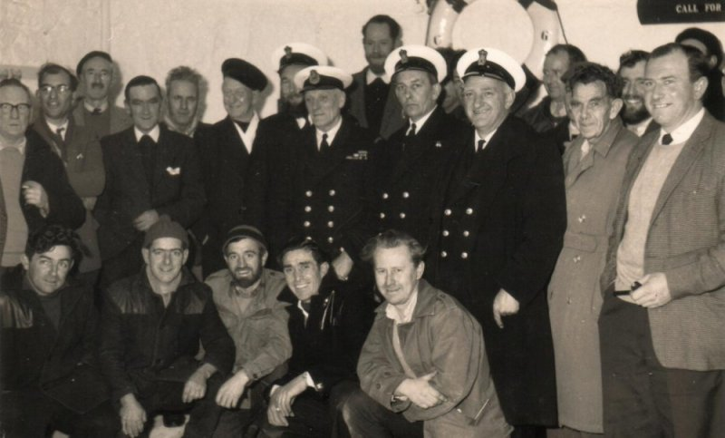 'Coastguard Cliff Rescue Service' picture taken in the early 60's